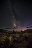 Galaxia de la vía láctea Fotografía de archivo