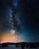 Galaxia de la vía láctea Imagen de archivo