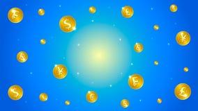 Galaxia del dinero Fotos de archivo libres de regalías