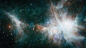 Galaxia - elementos de esta imagen equipados por la NASA Fotos de archivo libres de regalías