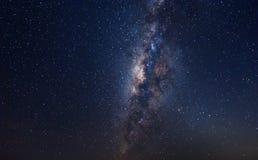 Galaxia en el cielo fotografía de archivo