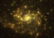 Galaxia en un espacio libre Imágenes de archivo libres de regalías