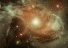 Galaxia en un espacio libre Foto de archivo libre de regalías
