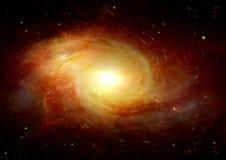 Galaxia en un espacio libre Fotos de archivo libres de regalías