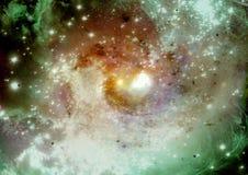 Galaxia en un espacio libre Fotografía de archivo libre de regalías