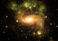 Galaxia en un espacio libre Imagen de archivo