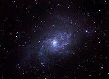 Galaxia espiral Foto de archivo libre de regalías