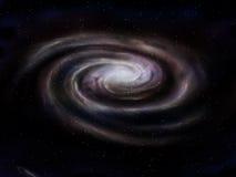 Galaxia espiral Fotos de archivo