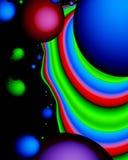 Galaxia extraña Foto de archivo libre de regalías