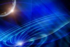 Galaxia, fondo abstracto ilustración del vector