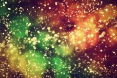 Galaxia, fondo abstracto del espacio. ilustración del vector