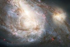 Galaxia increíblemente hermosa en alguna parte en espacio profundo Papel pintado de la ciencia ficción fotos de archivo libres de regalías