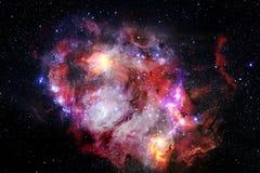 Galaxia increíblemente hermosa en alguna parte en espacio profundo Papel pintado de la ciencia ficción foto de archivo