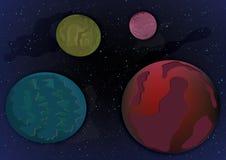 Galaxia inexplorada Fotos de archivo libres de regalías
