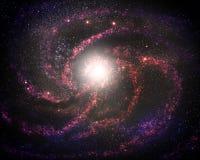 Galaxia joven Fotografía de archivo