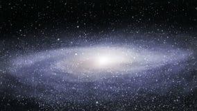 Galaxia lejana loopable almacen de video