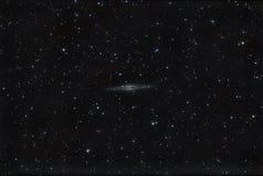 Galaxia NGC 891 fotografía de archivo libre de regalías