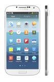 Galaxia S4 de Samsung Imagen de archivo libre de regalías