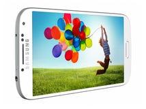 Galaxia S4 de Samsung Fotos de archivo libres de regalías