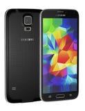 Galaxia S5 de Samsung Imágenes de archivo libres de regalías