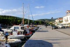Galaxidi, Grèce images libres de droits