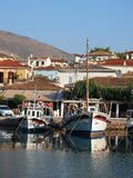 Galaxidi harbour, Greece Royalty Free Stock Images