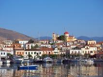 Galaxidi harbour, Greece Stock Photos