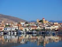 Galaxidi harbour, Greece Royalty Free Stock Photos