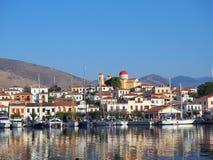 Galaxidi harbour, Greece Royalty Free Stock Image