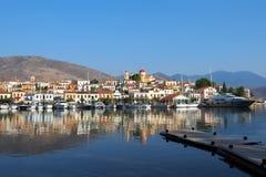 Galaxidi harbour, Greece Stock Image