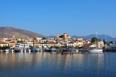 Galaxidi harbour, Greece Stock Images