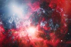 Galaxie - éléments de cette image meublés par la NASA Photographie stock