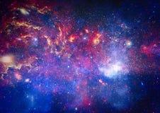 Galaxie - éléments de cette image meublés par la NASA Images stock