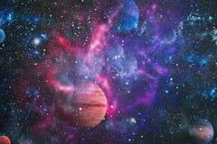 Galaxie - éléments de cette image meublés par la NASA Photo stock