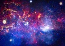 Galaxie - éléments de cette image meublés par la NASA Photos stock