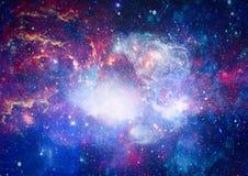 Galaxie - éléments de cette image meublés par la NASA Photographie stock libre de droits