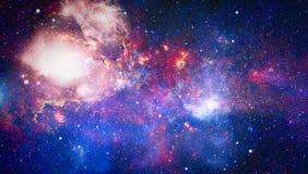 Galaxie - éléments de cette image meublés par la NASA Images libres de droits