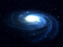 Galaxie. illustration stock