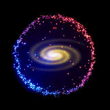 galaxie Photo stock