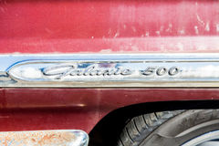 Galaxie 500 Chrome Stock Photography