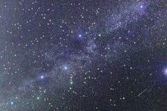 Galaxie d'étoile d'espace lointain d'univers Image stock