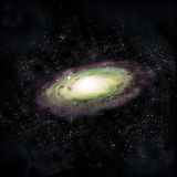Galaxie d'Andromeda Images stock