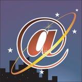 Galaxie d'Internet illustration de vecteur