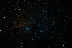 Galaxie d'univers de l'espace Photos libres de droits