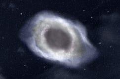 Galaxie dans l'espace Image libre de droits