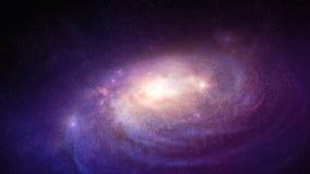 galaxie dans l'espace Image stock