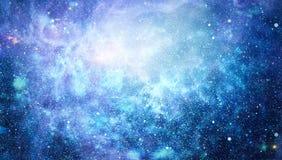 Galaxie dans l'espace, beauté d'univers, trou noir Éléments meublés par la NASA Photos stock