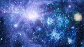 Galaxie dans l'espace, beauté d'univers, trou noir Éléments meublés par la NASA Image libre de droits