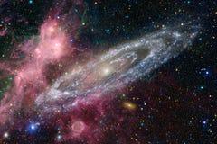 Galaxie dans l'espace extra-atmosph?rique, beaut? d'univers photo libre de droits