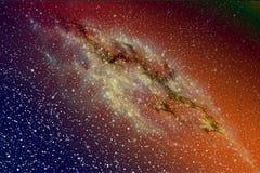 Galaxie dans les espaces extra-atmosphériques Image libre de droits